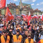 Marsz przeciwko roszczeniom żydowskim Akt. 447 JUST w Warszawie! Transmisja LIVE!