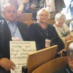Naskarżyli na Ziobrę Kaczyńskiemu. Zobacz jakim plakatem witano prezesa na konwencji w Nowym Sączu