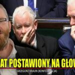 Poseł Grzegorz Braun: Mamy już 100 tysięcy ofiar obecnego rządu obecnej władzy