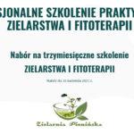 Profesjonalne szkolenie praktycznego zielarstwa i fitoterapii